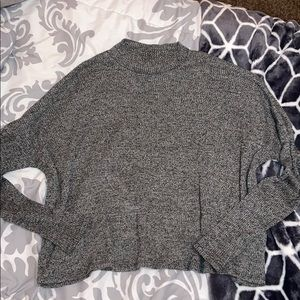 h&m flows mock neck long sleeve